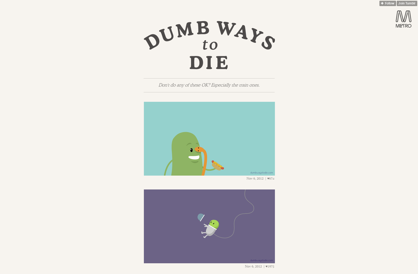 Dumb Ways to Die2