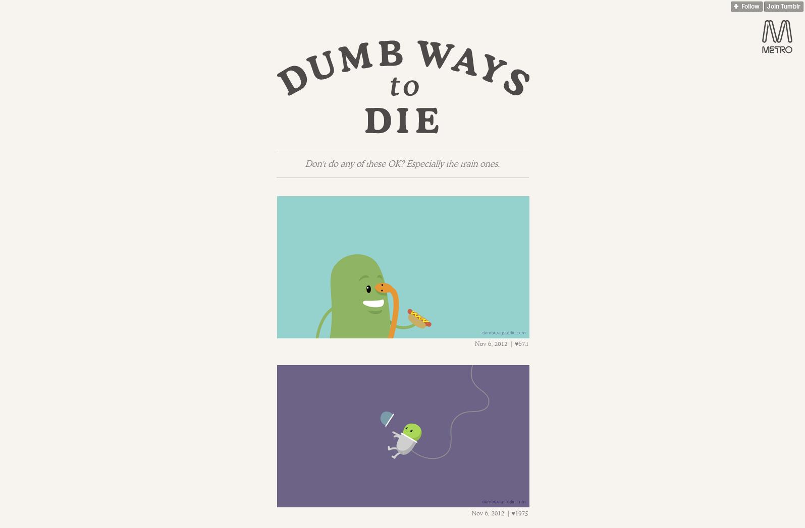 Dumb Ways to Die2